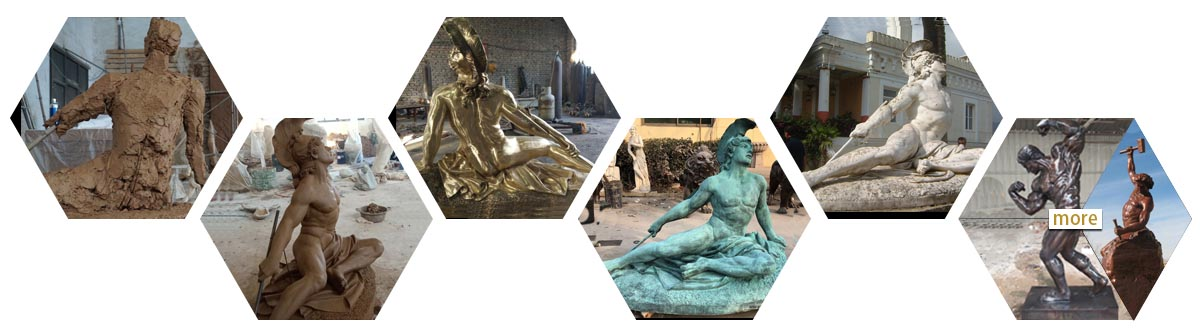 famous PORTRAIT statues