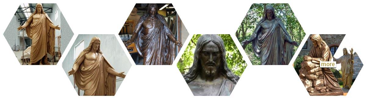 jesus statue from religious