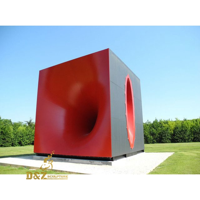 Vortex art sculpture