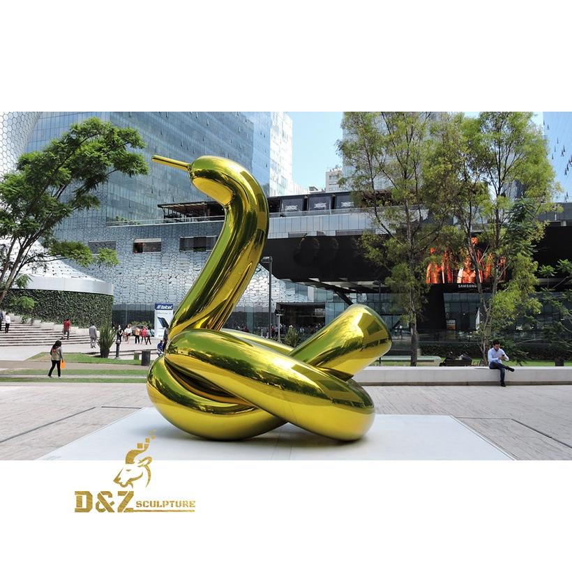 The snake sculpture
