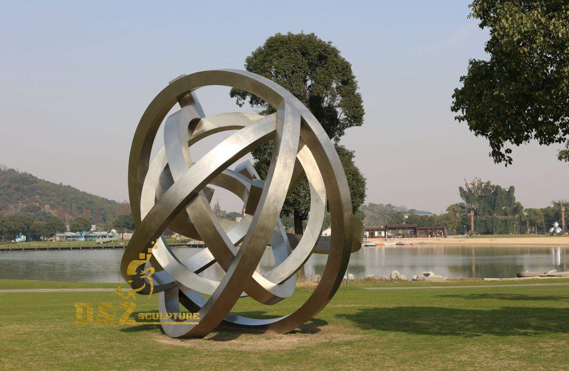 Park abstract sculpture