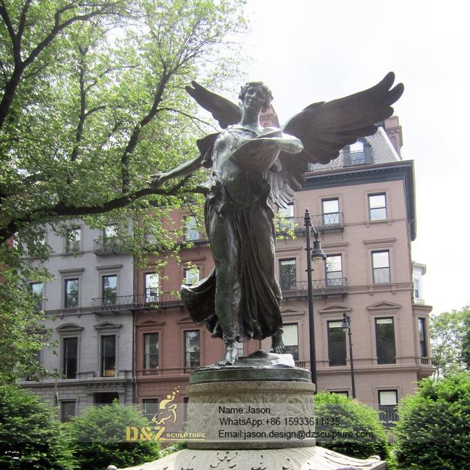 Gadern bronze angel fountain