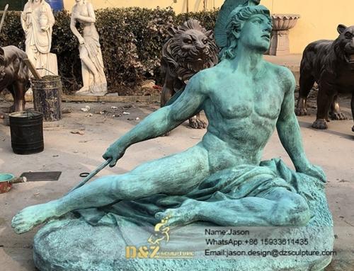 Famous statue portrait