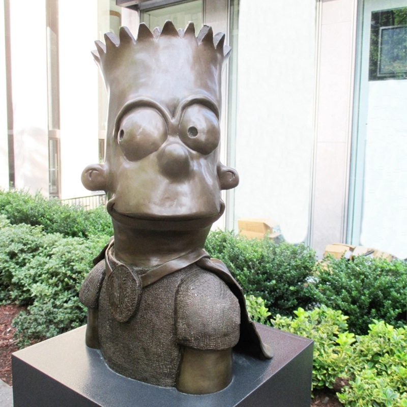 simpson bronze sculpture