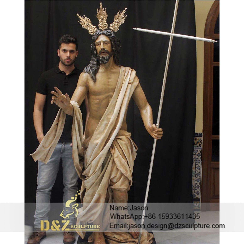 Jesus Resurrection Sculpture