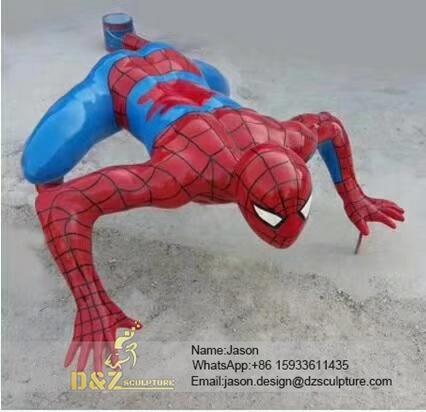 Spider-Man Cartoon Sculpture
