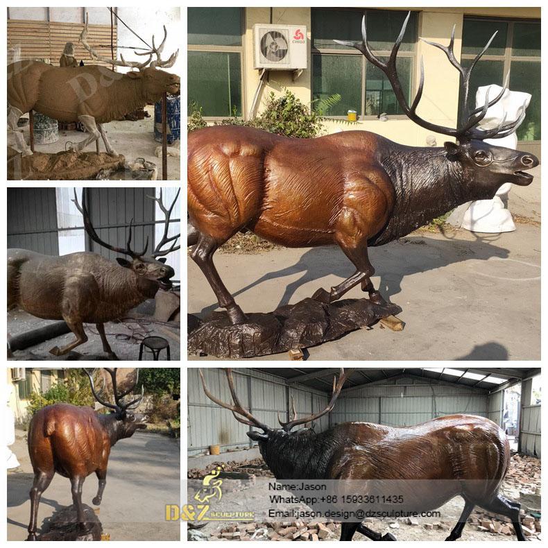 Images-for-elk-statue-bronze-statue