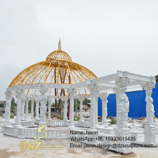 Luxury White Gazebo