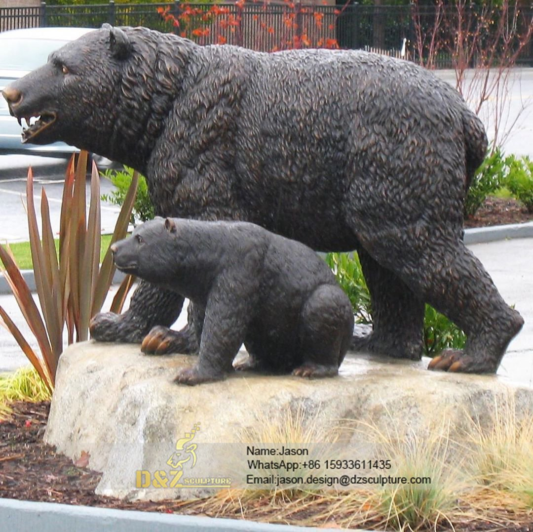 Bronze Bear and kids