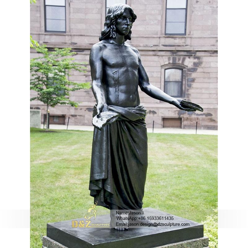 Vivid casting jesus statue