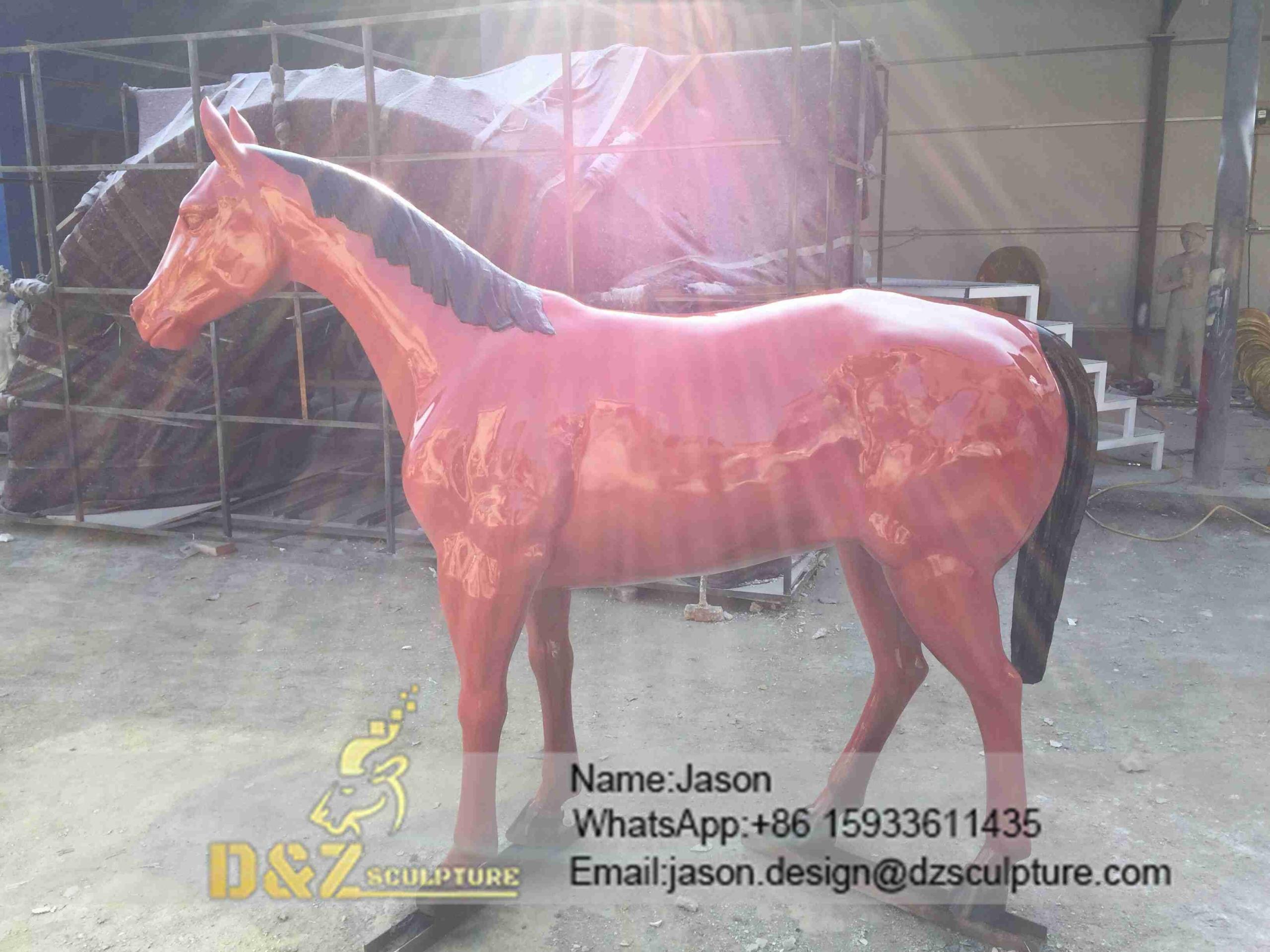 Outdoor Horse Sculpture
