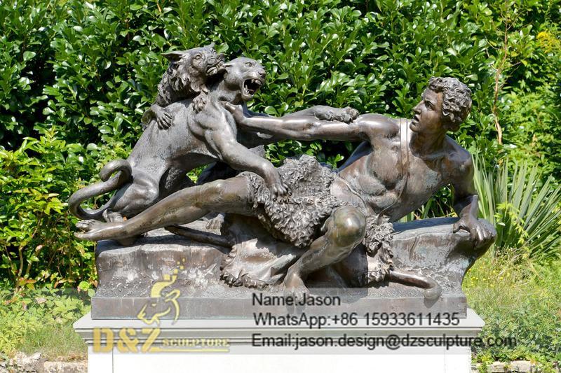 famous potsdam bronze sculpture