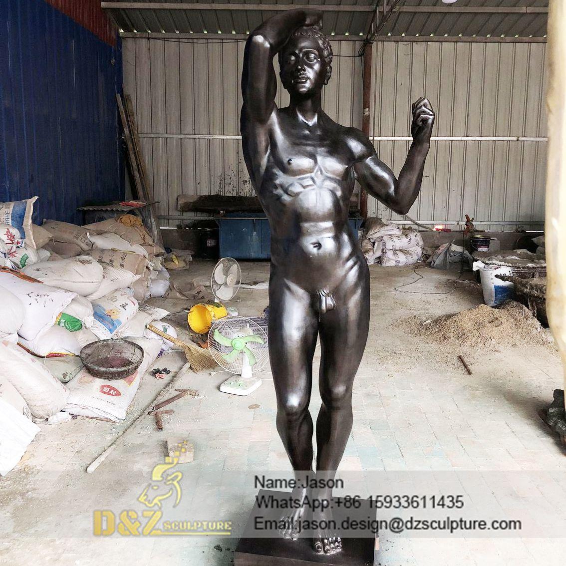Rodin art nude sculpture