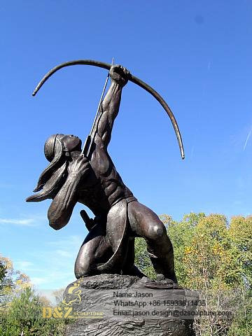 Sacred Rain Arrow sculpture