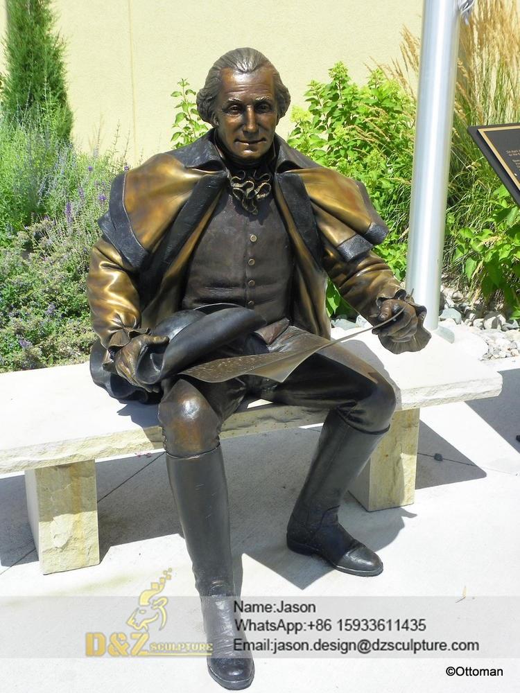 president George Washington sculpture