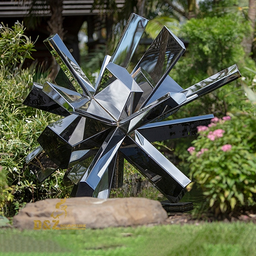 garden stainless steel sculpture