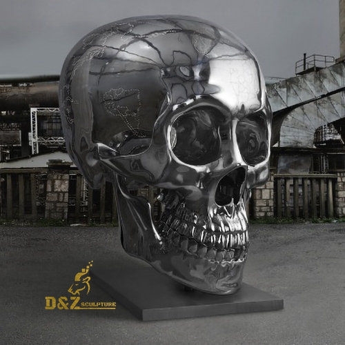 large size skull sculpture