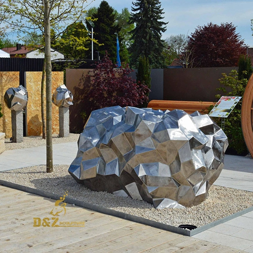 art stainless steel sculpture