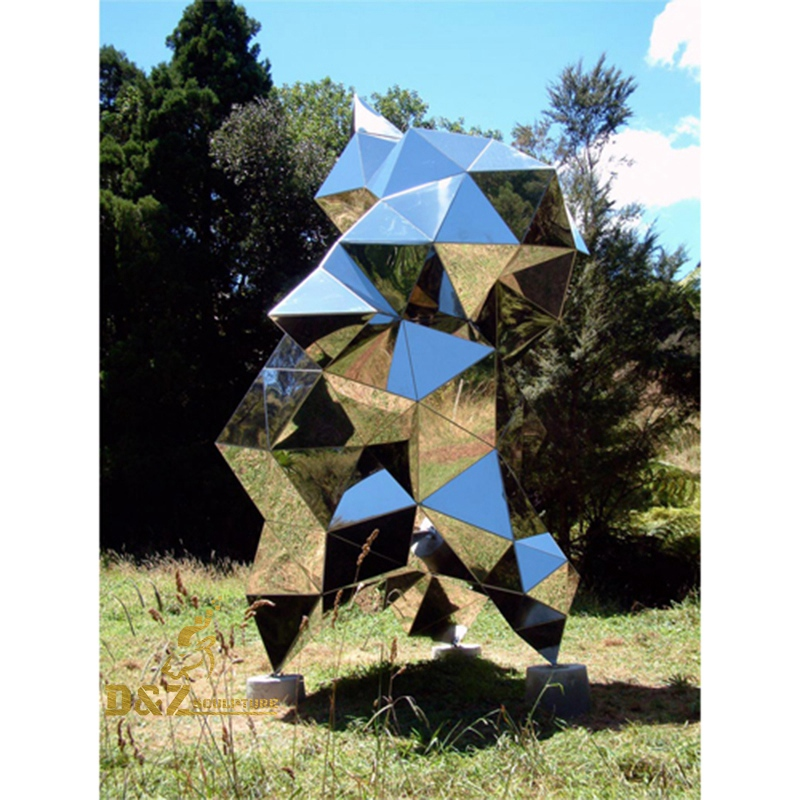 aesthetic three-dimensional abstract sculpture