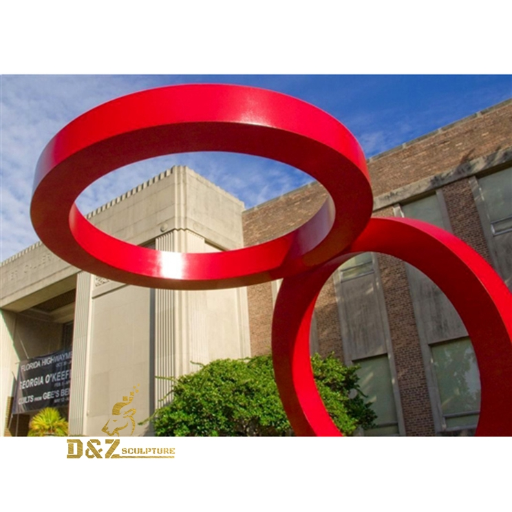 large size loop sculpture