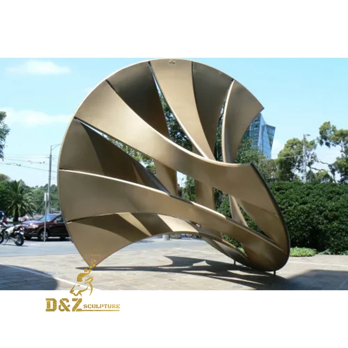 modern metal art sculpture