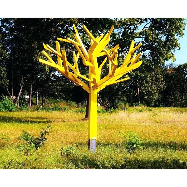 abstract garden tree sculpture