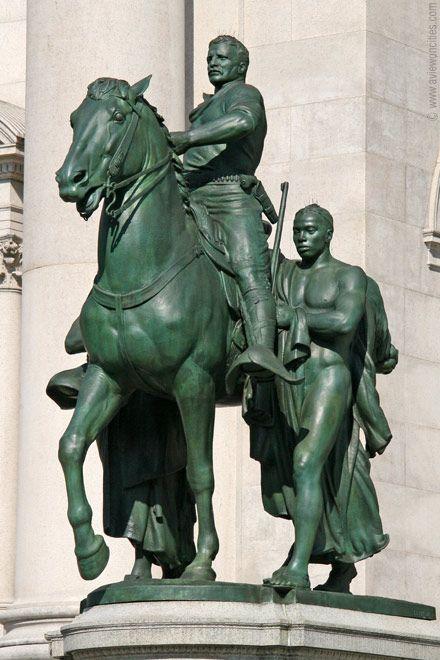 Statue of Theodore Roosevelt