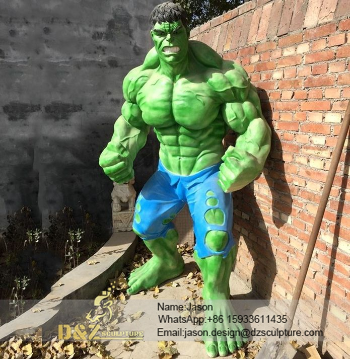Giant hulk sculpture