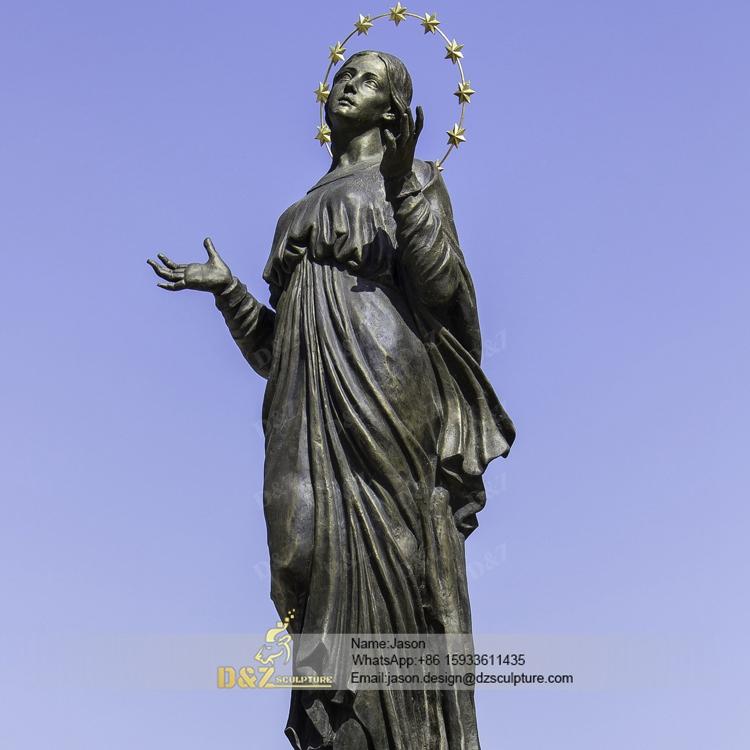 Bronze Virgin Mary