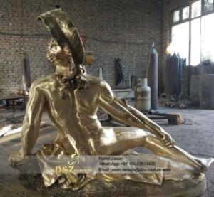 brass famous statue