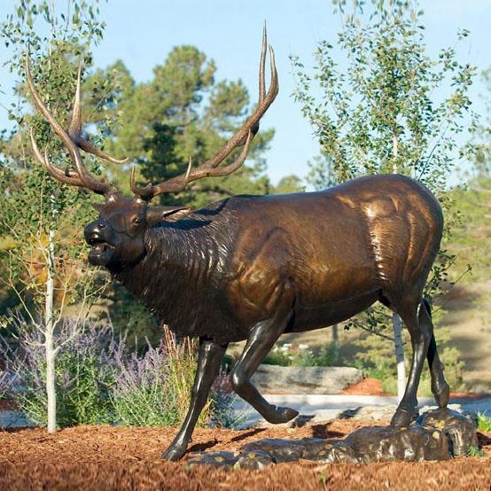 bronze-elk