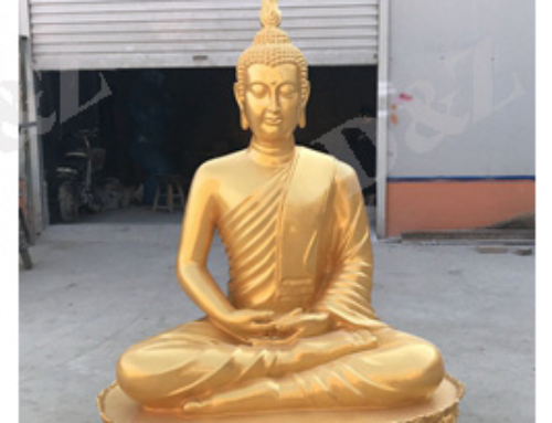 Buddha fiberglass statue