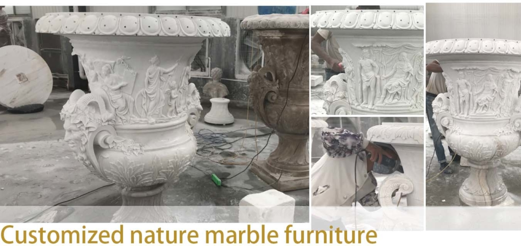 custom made stone furniture