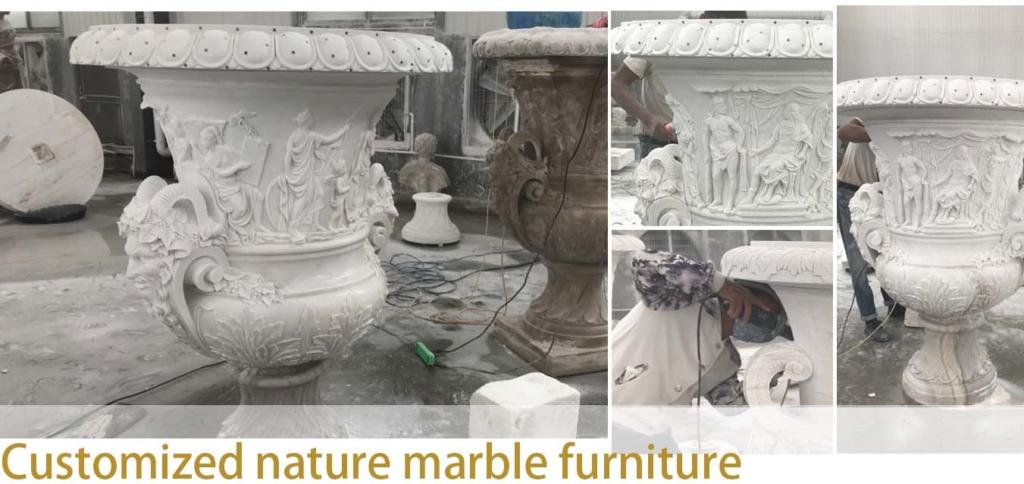 custom made stone furniture