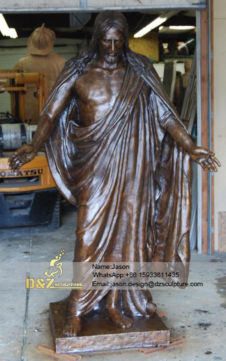 Gospel jesus Christus sculpture