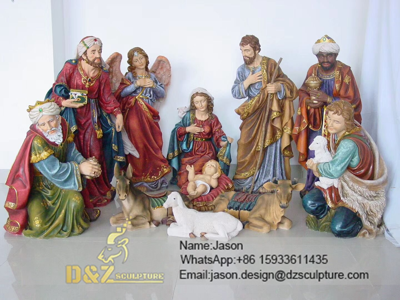 Nativity of Jesus sculpture