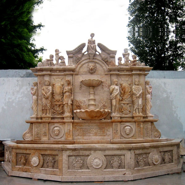 Wall Fountain statue