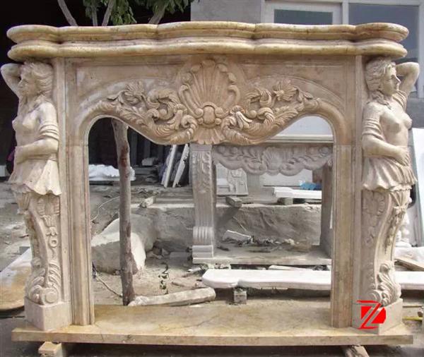 Fiberglass Fireplace Mantels statue