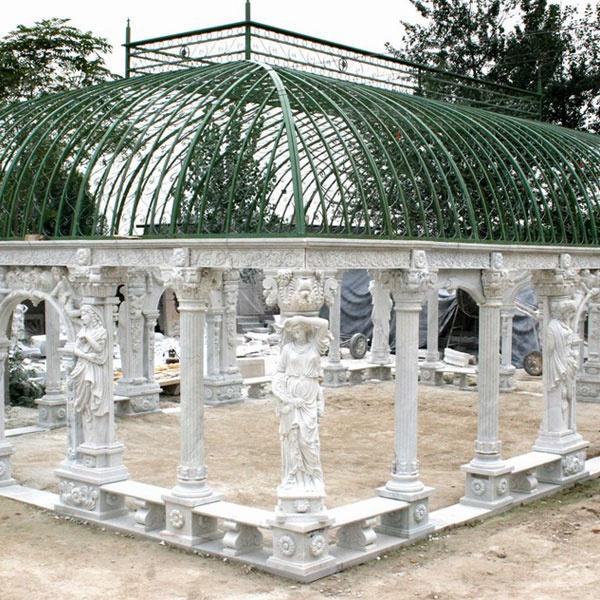 Pavilion Gazebo statue