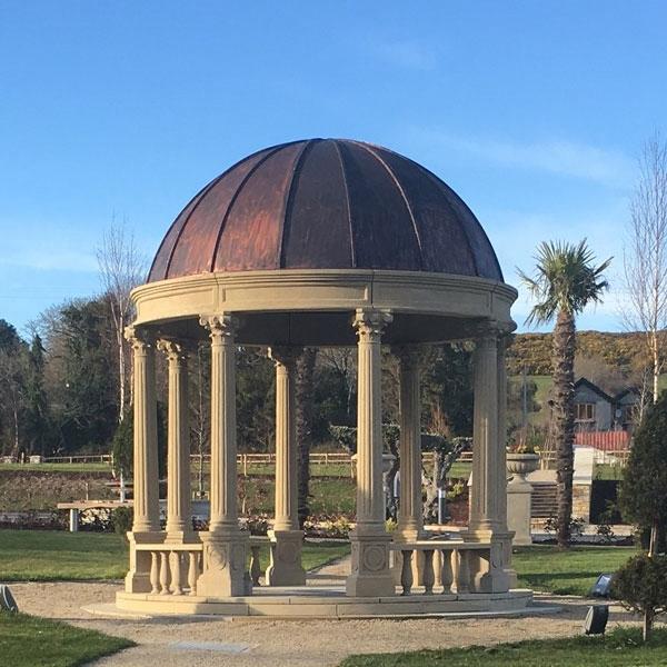 Marble Gazebo Dome statue