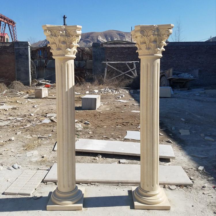 Yellow Stone Pillars
