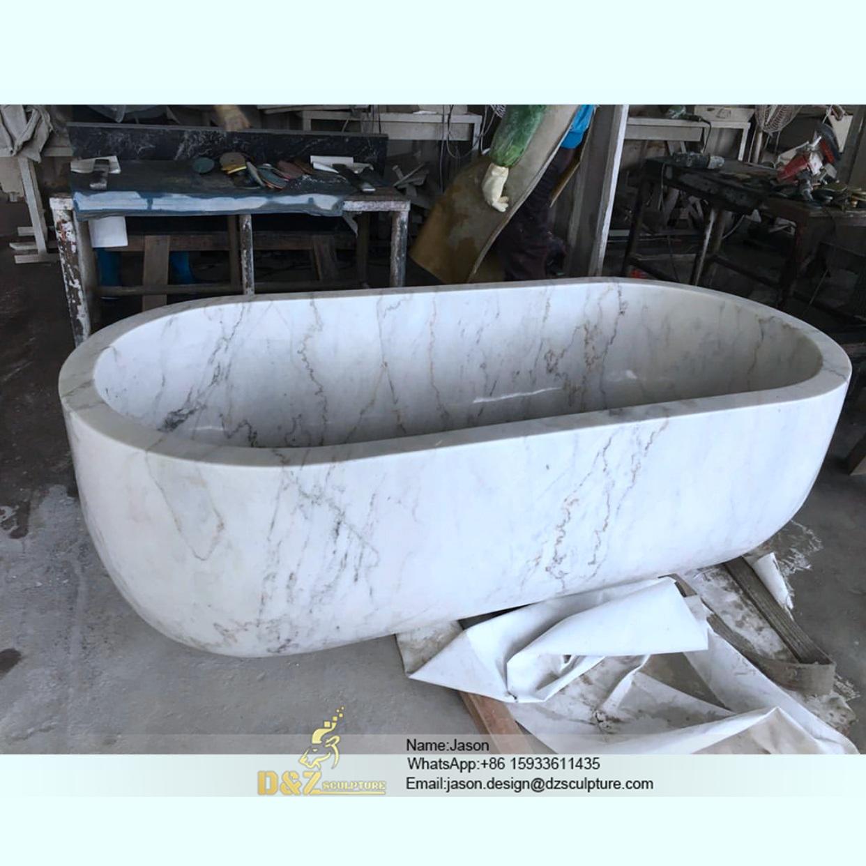 Bali stone bathtub