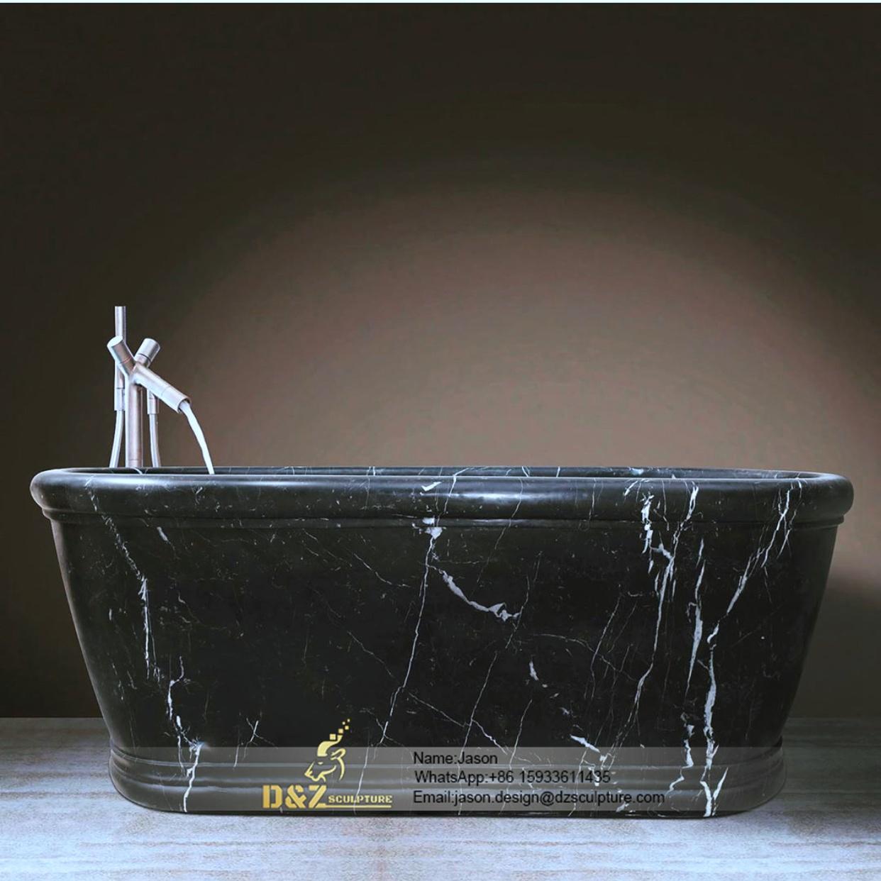 Marble stone bathtube