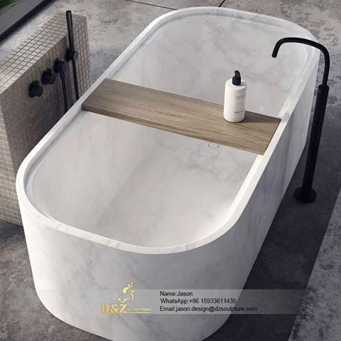 Stone bathtube for outside