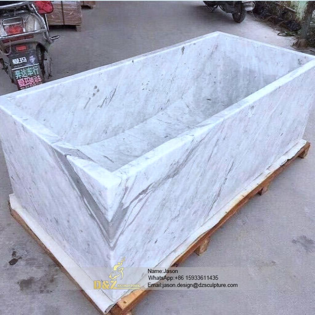 Zebra stone bathtube