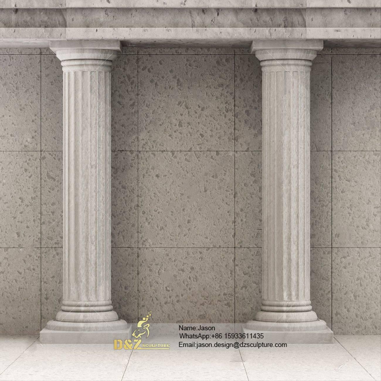 The pillar columns