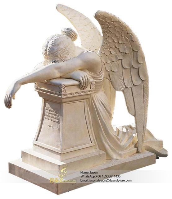 Angel figurines cemetery