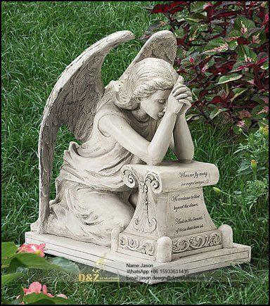 Angel sculpture cemetery angels
