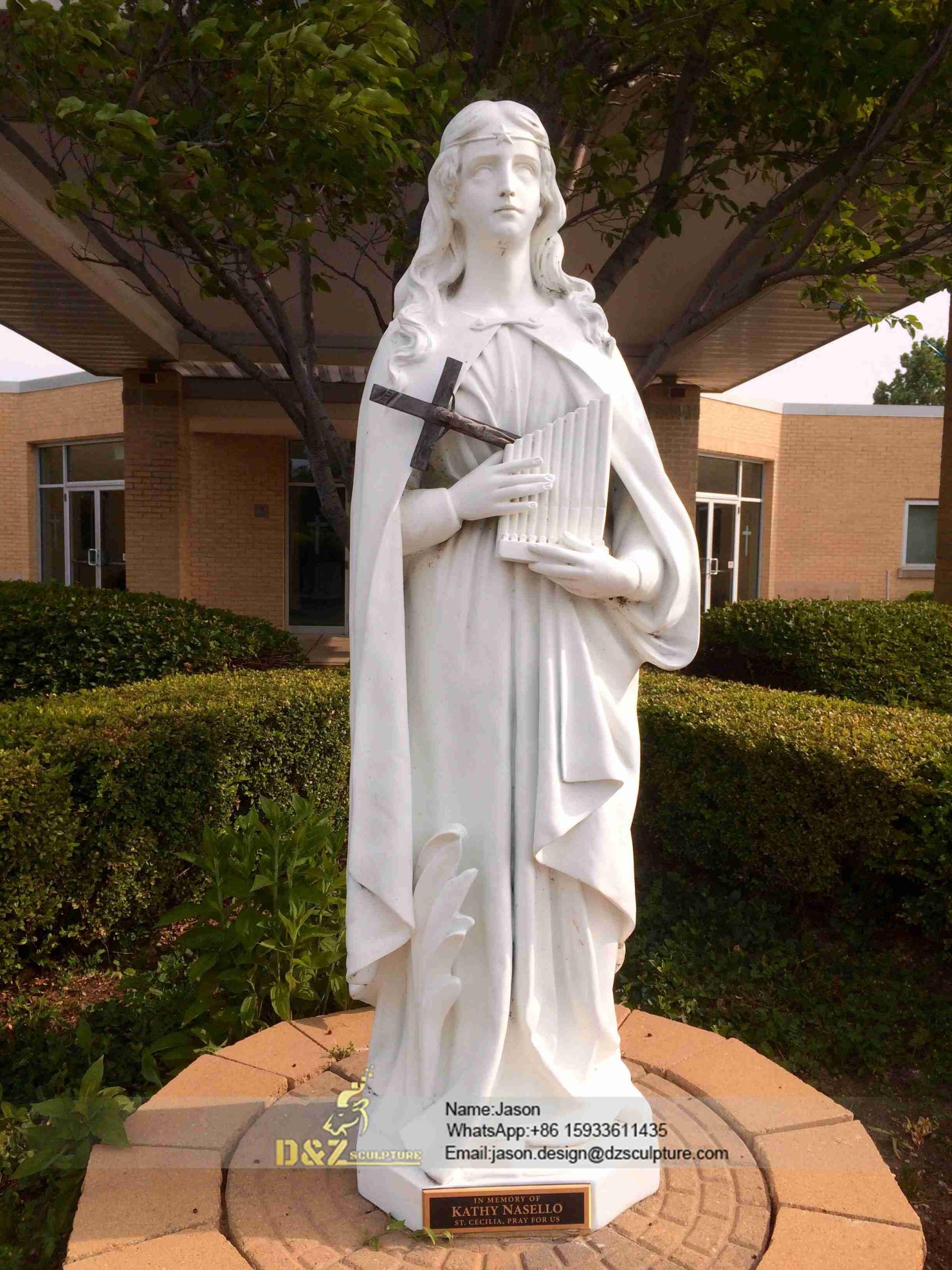 St. Cecilia statue