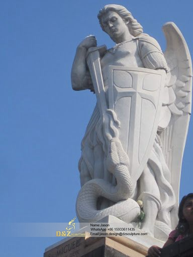 St.Michael angel statue
